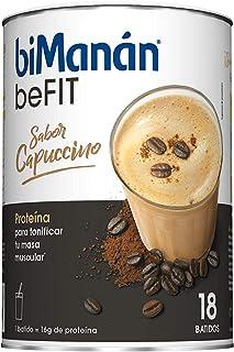 biManán - beFIT - Proteína para tonificar - Batido Cappuccino - 18uds 540 gr