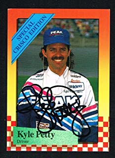 Kyle Petty signed autograph auto 1989 MAXX Special Crisco Edition #12