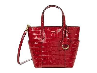 LAUREN Ralph Lauren Carlyle 20 Crossbody (RL 2000 Red) Handbags