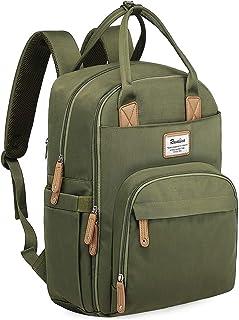 Diaper Bag Backpack, RUVALINO Multifunction Travel Back Pack Maternity Baby Changing Bags, Large Capacity, Waterproof and ...