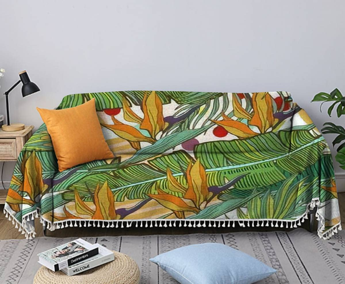Sofa Bombing free shipping Towel Hand Drawn Seamless Background Leaves And With Ranking TOP2 Banana