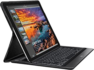 Logitech Create - Backlit Keyboard Case with Smart Connector - Exclusively for 12.9-Inch Apple iPad Pro - Premium Anodized Aluminum - Black (NOT for 2018 model)