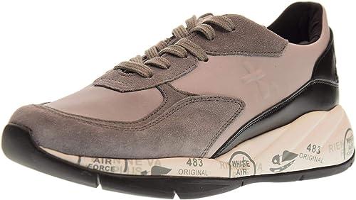 PREMIATA Chaussures Femme paniers Basses Scarlett 3485 3485 noir gris  moins cher