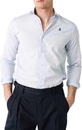 Scalpers Sport ELISEE Shirt II - Camisa para Hombre, Talla 43 ...