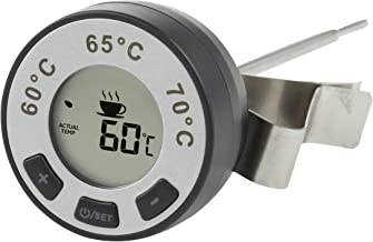 LEAF & BEAN D8026 Digital Milk Frothing Thermometer, Black/Stainless Steel