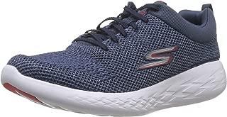 Skechers 斯凯奇男式 Go Run 600 运动鞋 Blue (Blue Textile/Navy Trim Blnv) 10.5 UK