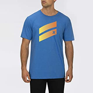 Hurley Premium Icon Slash Graphic Short Sleeve Tee Shirt