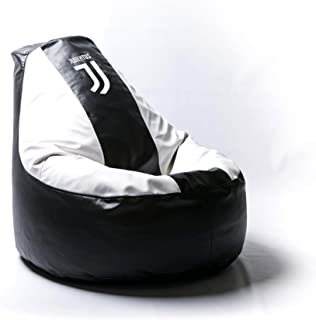 Juventus Football Comfortable Kids Adult Game Outdoor Indoor Lounge Chair Cover + Inner Bag (Without Beans) New Logo