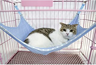 NACOCO Cat Hammock Ferret Rat Rabbit or Puppy Bed Pad Hanging Soft Pet Bed Use with Crate Cage or Chair, 3 Kinds of Design