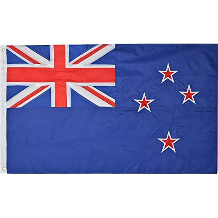 Dflive New Zealand Country Flag 3x5 Ft Printed Polyester Fly The Nzl New Zealander Kiwi National Flag Banner With Brass Grommets Garden Outdoor