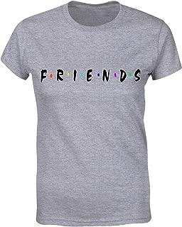 Friends T Shirt Womens Funny Cute Shirts Teen Girls Graphic Tees Tops