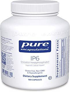 Pure Encapsulations - IP6 (Inositol Hexaphosphate) - Hypoallergenic Antioxidant Support for Prostate, Breast, Colon and Li...