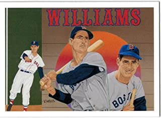 1992 Upper Deck Ted Williams Baseball Heroes Set of 9 Cards - Boston Red Sox