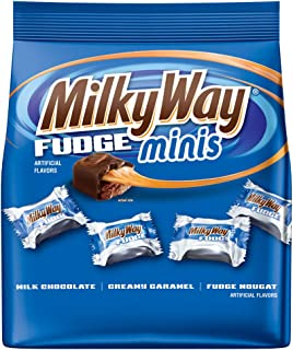 Milky Way Minis Fudge, 8.9 Ounce (Pack of 8)