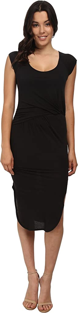 High Twist Jersey Dress