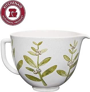 KitchenAid KSM2CB5PWB 5QT Stand Mixer Bowl, 5 Qt, Winterberry Ceramic