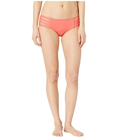 Seafolly Fastlane Active Multi Strap Hipster Bottoms (Peach) Women