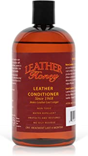 Leather Honey Leather Conditioner, Best Leather Conditioner Since 1968. For Use on Leather Apparel, Furniture, Auto Interi...