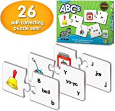The Learning Journey Match It! – ABCs – Preschool Toys & Gifts for Boys & Girls Ages 3 and Up – Award Winning Puzzle