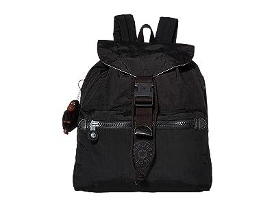 Kipling Keeper Backpack (True Black) Backpack Bags