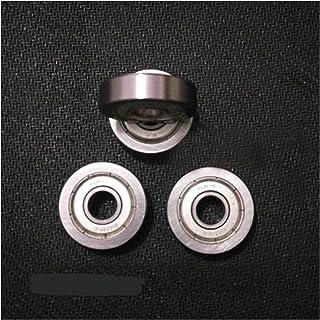 LBWNB 608zz - Rodamientos de bolas de rueda ABEC-1 de 8 x 26 x 7 mm, no estándar 608z, 10 rodamientos de bolas