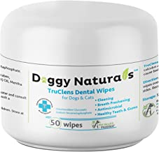Dental Wipes, Spray and Water Additive for Dogs and Cats That Helps Remove Plaque Tartar Buildup Calculus, Bad Breath,Tooth Decay & Gingivitis