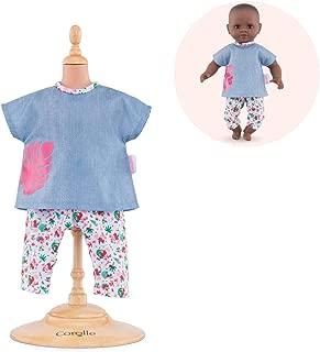 Corolle - Mon Premier Poupon Fashions - Tropicorolle Outfits Set - for 12'' Baby Dolls
