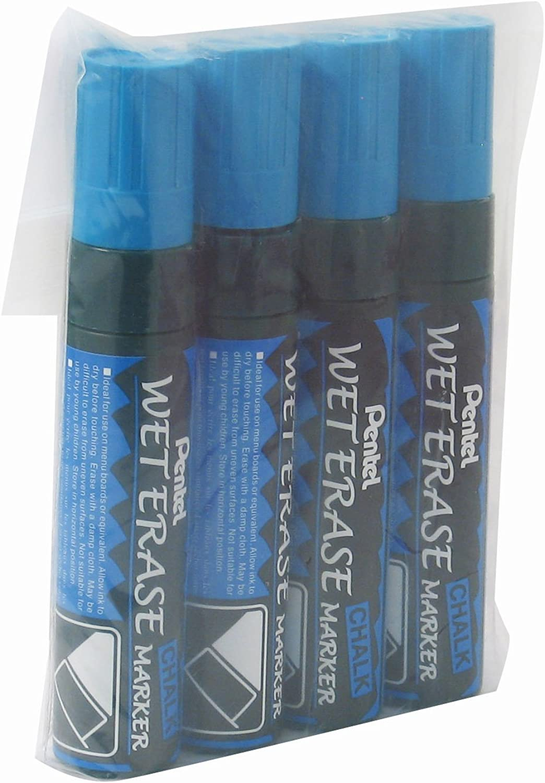 Pentel Jumbo Samt-4 Marker, Kreidestifte zu Wasser (UK-Import) blau B0076WVWKW       München Online Shop
