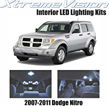 XtremeVision Interior LED for Dodge Nitro 2007-2011 (10 Pieces) Cool White Interior LED Kit + Installation Tool