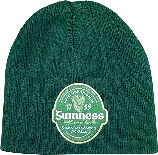 Bottle Irish Label Beanie Hat Green