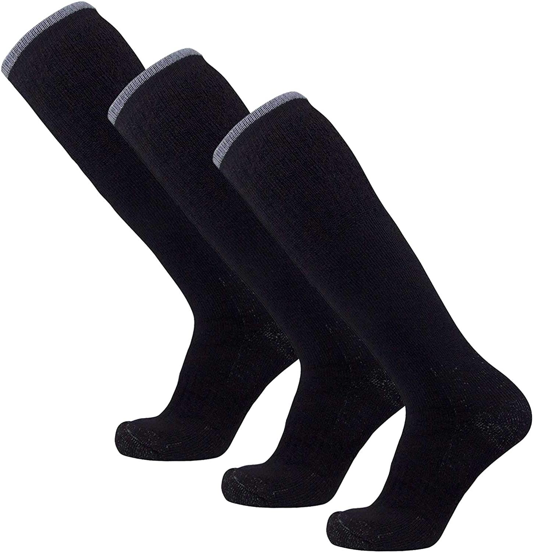 Ultimate Warmth Arctic Ski Socks  Heavy Thick Ski Sock  Merino Wool