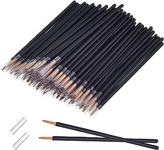 eBoot 100 Pack Disposable Eyeliner Brush Applicator Cosmetic Eye Wands Makeup Tool