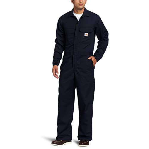 de37cd724241 Carhartt Men s Big   Tall Flame Resistant Traditional Twill Coverall