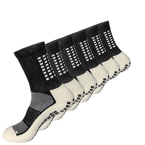 Calcetínes antideslizantes para hombre y mujer, Medias algodon gruesos, transpirable desodorante Calcetines deporte para