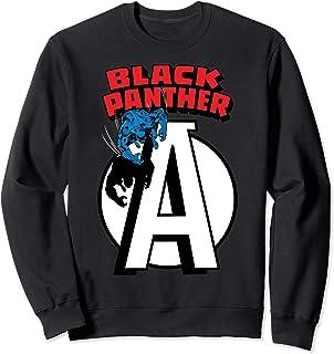 Marvel Avengers Black Panther Chest Logo Sweatshirt