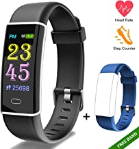 Fitness Tracker Watch-Activity Trackers Health Exercise Watch With Heart Rate Monitor Fitness Watches for Men With Sleep Monitor Step Counter Smart Fitness Band Pedometer Walking for Women kids … …