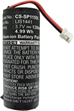 XPS Replacement Battery Compatible with Sony CECH-ZCM1E Motion Controller Playstation Move Motion Controller PS3 Move PN 4-168-108-01 4-195-094-02 LIP1450 LIS1441