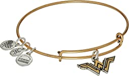 Wonder Woman Logo Bangle Two-Tone