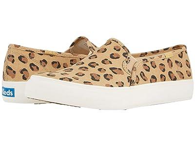 Keds Double Decker Leopard (Tan/Black) Women