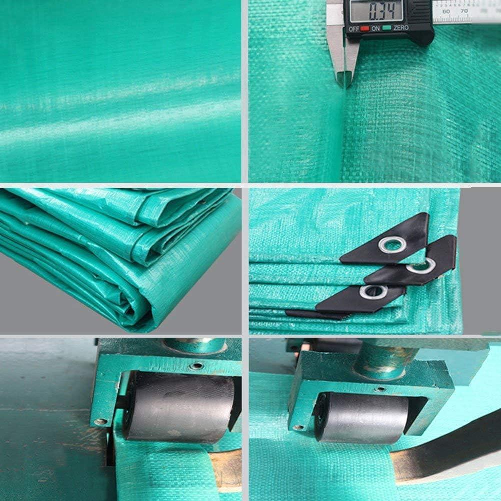 YUMUO Bâche étanche Camping Tissu spécial pour la pêche en Plein air Couverture Verte différentes Tailles Peuvent Choisir -034 mm (Taille: 6x6 m) 13