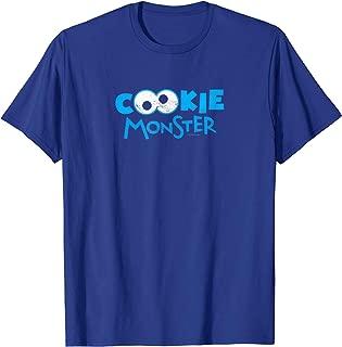 Sesame Street Cookie Monster Eyes T Shirt T-Shirt