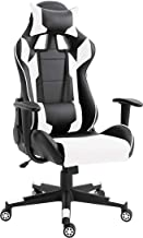 Mahmayi C599 Adjustable PU Leather Gaming Chair - PC Computer Chair for Gaming, Office or Students, Ergonomic Back Lumbar ...
