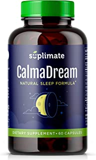 Sleep Aid | Premium Herbal Sleep Supplement with Valerian Root, Ashwagandha, Melatonin, Passion Flower, Magnesium and 5HTP | Sleep Aids for Adults Extra Strength Sleeping Pills