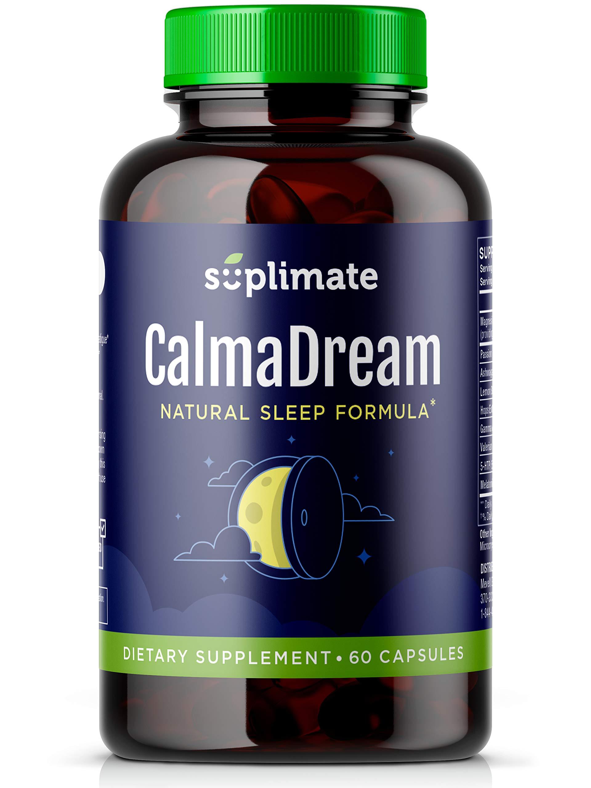 Supplement Valerian Ashwagandha Melatonin Magnesium