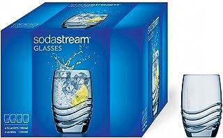 Sodastream 30000153 tumlare, glass, 4 x 330ml, genomskinlig