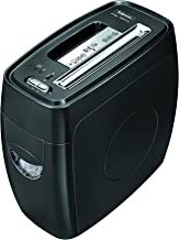 Fellowes Powershred PS-12Cs 12 Sheet Cross-Cut Paper and Credit Card Shredder with SafeSense Technology (3271301),Black