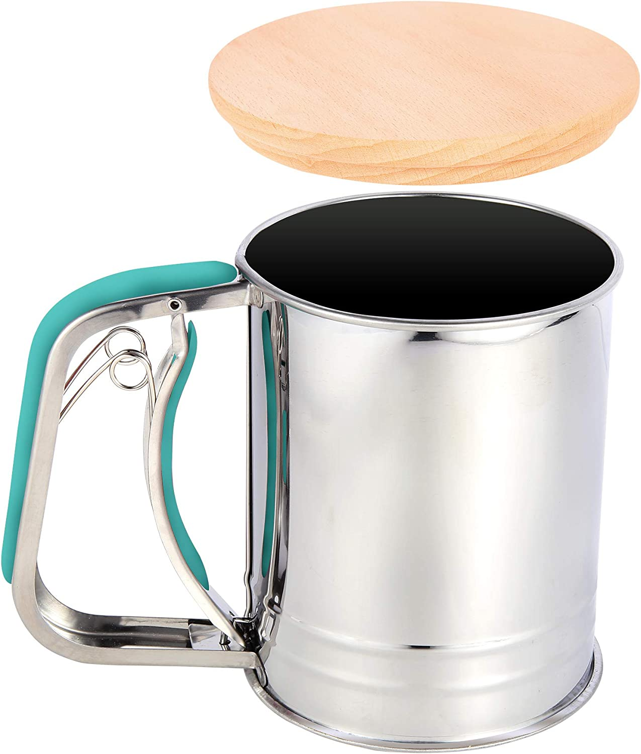 Baltimore Mall YongLy 3 Cup Flour Sifter Baking Wholesale Stainless with Steel Seive