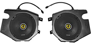 Kicker CSC Speakers+Speaker Pods for 2014-2019 Polaris RZR 1000/900S/Turbo