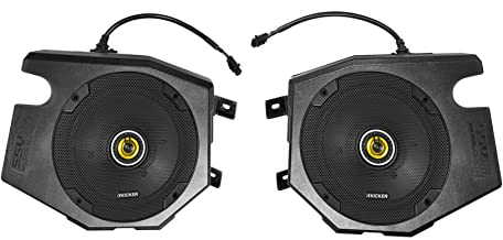 Kicker CSC Speakers+Speaker Pods for 2014-2019 Polaris RZR 1000/900S/Turbo
