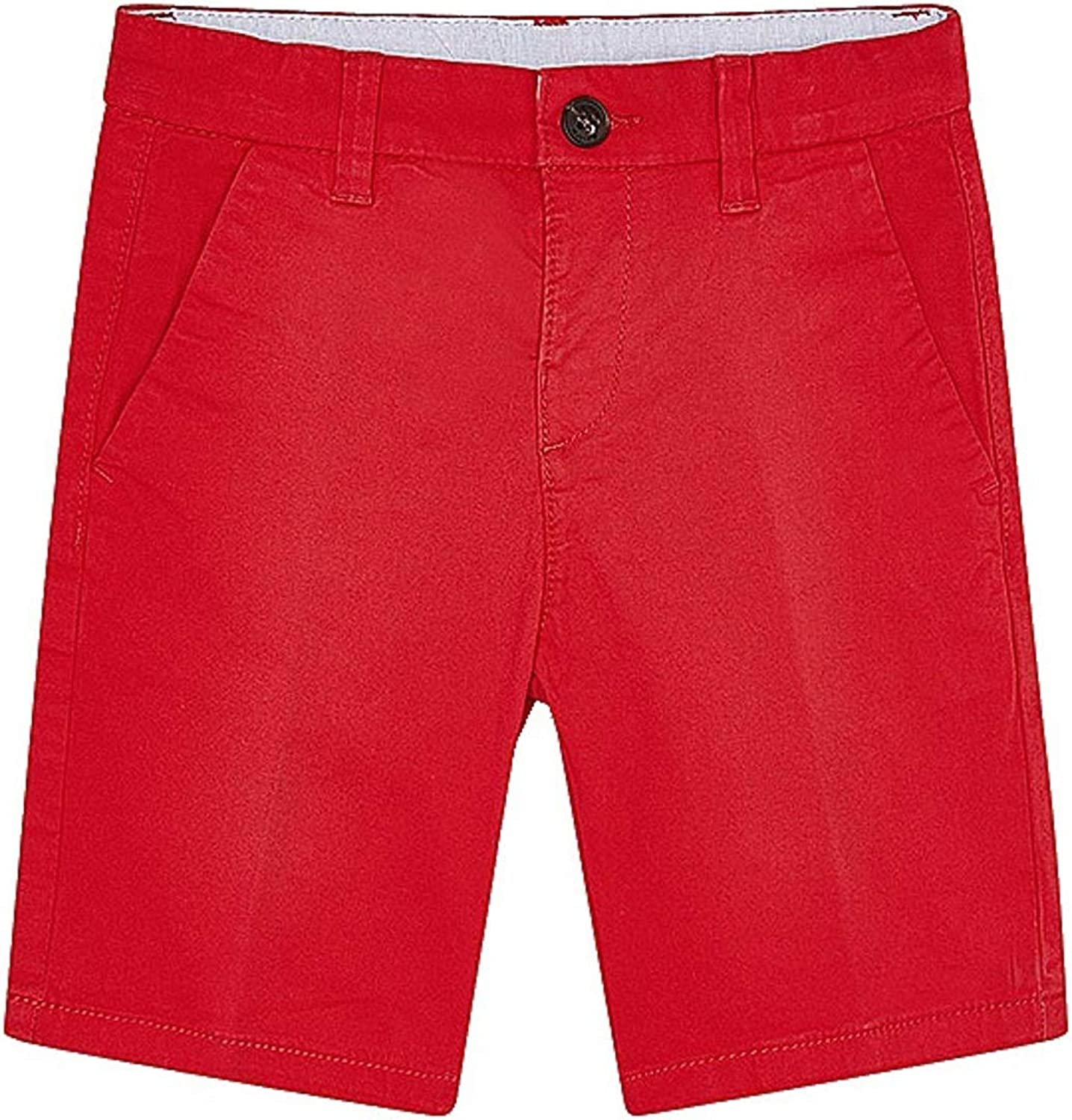 Mayoral - Basic Twill Chino Limited price sale 0202 Shorts Max 43% OFF Red for Boys